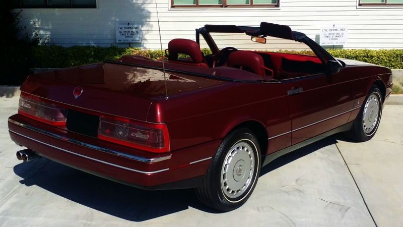Auction Cars For Sale >> dietzmotorcraft | 1987 Cadillac Allante